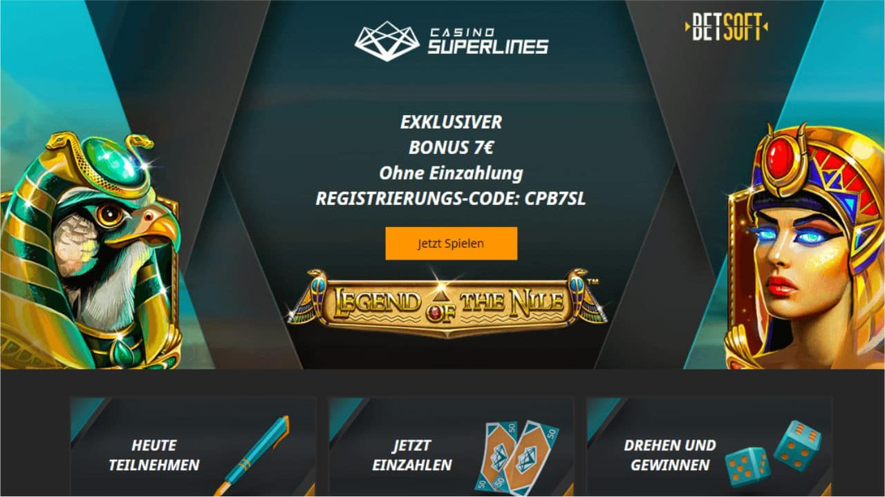Casino Superlines Bonus gratis neu